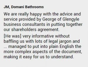 shareholders agreement testimonial